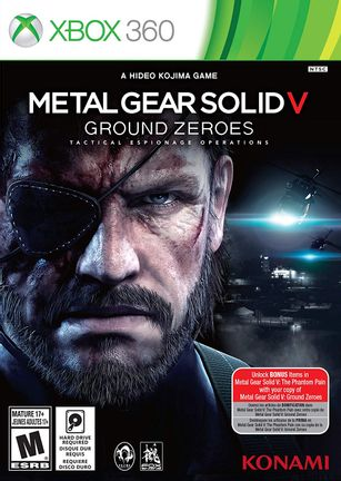 Xbox 360 Metal Gear Solid V: Ground Zeroes US Version