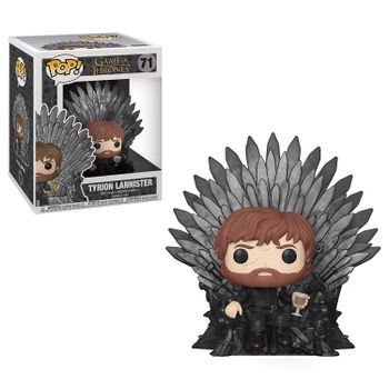 POP! Television: Game of Thrones - Tyrion Lannister Sitting on Throne Deluxe Vinyl Figure