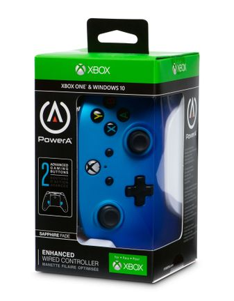 PowerA Enhanced Wired Controller - Sapphire Fade (Xbox One, PC)