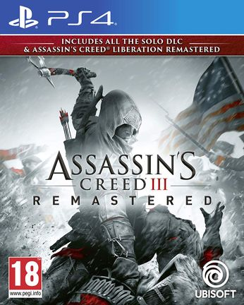 PS4 Assassin's Creed III and Liberation Remastered