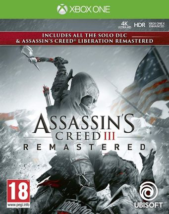 Xbox One Assassin's Creed III and Liberation Remastered
