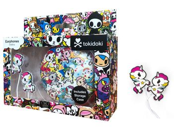 Tokidoki - Unicorn Earphones incl. Storage Case