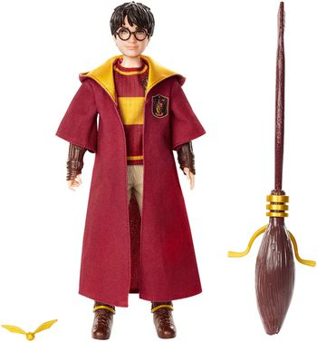 Harry Potter - Harry Potter Quidditch Poseable Doll, 25cm