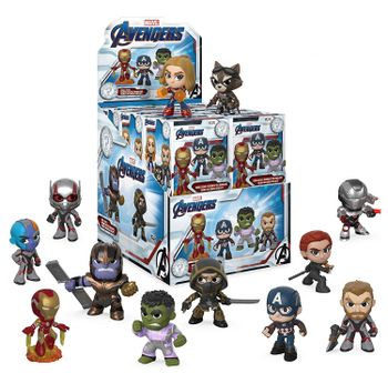 Mystery Minis: Marvel Avengers - Vinyl Bobble-Heads Blind Box