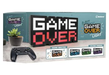 Game Over - 8-bit Light with Sound and Colour Phasing
