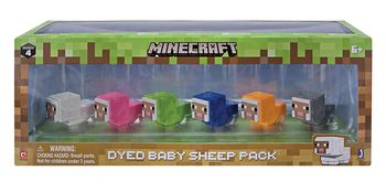 Minecraft - Dyed Baby Sheep Pack, Series 4