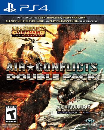 PS4 Air Conflicts Double Pack incl. 2 Complete Games US Version
