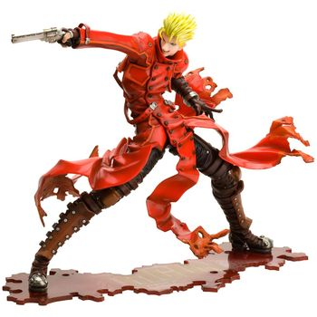 Trigun: Badlands Rumble - Vash The Stampede Pre-Painted Figure, 1/8 Scale