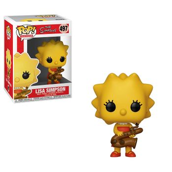 POP! Television: The Simpsons - Lisa Simpson with Saxophone Vinyl Figure