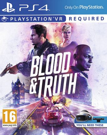 PS VR Blood and Truth