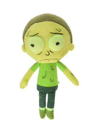 Galactic Plushies: Rick and Morty - Toxic Morty Plush, 20cm