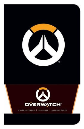 Notebook Overwatch - Logo, Softcover A5