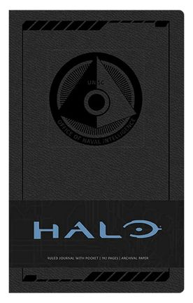 Ruled Journal Halo - UNSC, Hardcover with Pocket A5