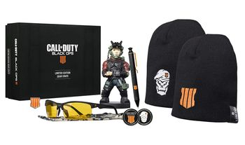 EXG Limited Gear Crate: Call of Duty - Cable Guy, Pen, Beanie, Glasses, Coin and Badge