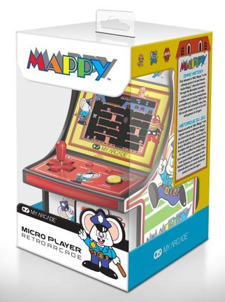 My Arcade - Mappy Micro Player Retro Arcade