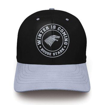 Baseball Cap: Game of Thrones - Stark, Black/Grey