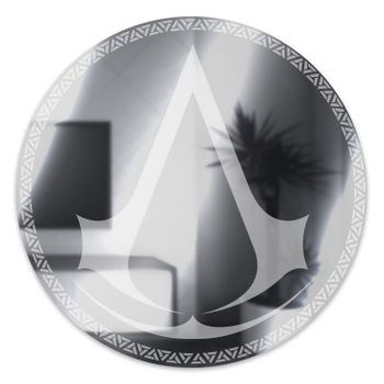 Assassin's Creed - Logo Acrylic Mirror with Wall Mount, 35cm