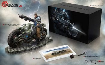 Gears of War 4 Collector's Edition - Game Not Included