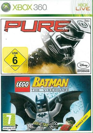 Xbox 360 Pure and LEGO Batman: The Videogame Double Pack - Xbox One Compatible