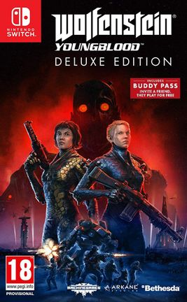 SWITCH Wolfenstein: Youngblood Deluxe Edition incl. Buddy Pass - Digital Download