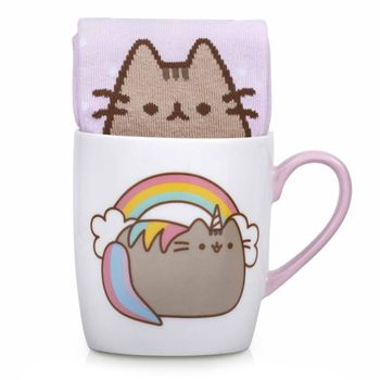 Gift Set: Pusheen - Unicorn Sock in a Mug, 250ml/Size 35.5-40 EU