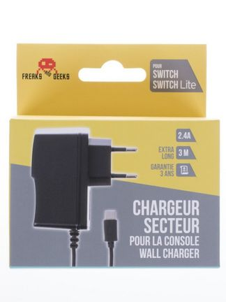 Freaks and Geeks Console Charger, 3m (Switch)