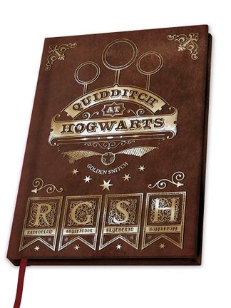 Notebook Harry Potter - Team Quidditch, Hardcover A5