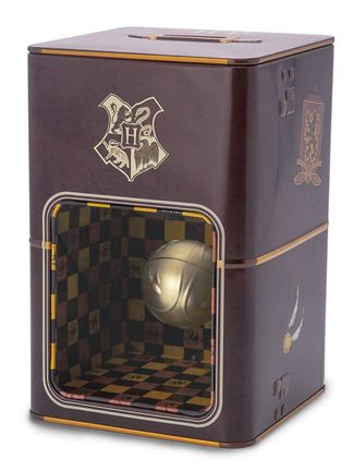 Harry Potter - Golden Snitch Money Bank with Optical Illusion