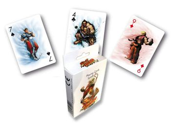 Playing Cards - Street Fighter
