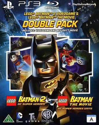 PS3 LEGO Batman 2: DC Super Heroes and LEGO Batman The Movie Blu-Ray Double Pack