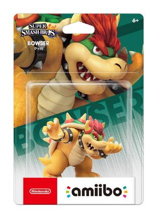 Amiibo Super Smash Bros. - Bowser (JP -Koopa)