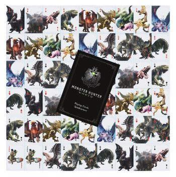 Playing Cards - Monster Hunter: World