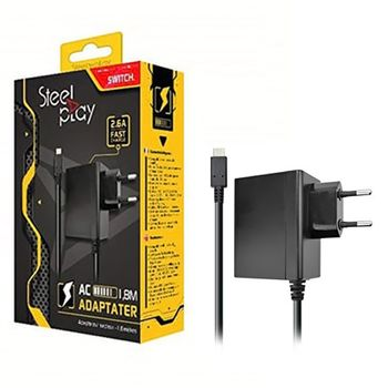 Steel Play AC Adapter, 2.6A (Switch)