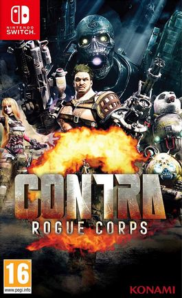 SWITCH Contra: Rogue Corps