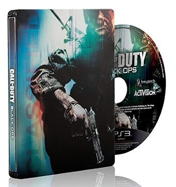 PS3 Call of Duty: Black Ops Steelbook