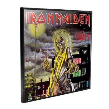 Crystal Clear Picture: Iron Maiden - Killers, 32x32cm