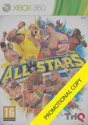 Xbox 360 WWE All Stars - Promotional Copy