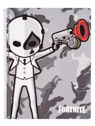 Notebook Fortnite - Wild Card Black, Softcover A4