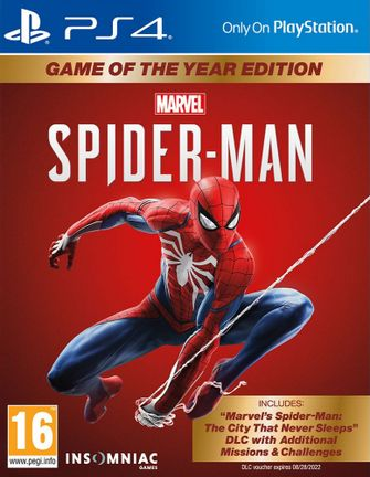 PS4 Marvel's Spider-Man GOTY Edition incl. Russian Audio