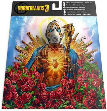 Borderlands 3 - Psycho Bottle Opener and Magnet Set