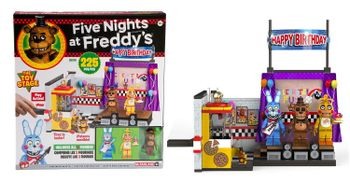 Five Nights at Freddy's - The Toy Storage incl. 3 Figures, 225 Pieces