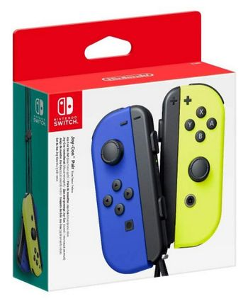 Switch Joy-Con Pair - Blue/Neon Yellow