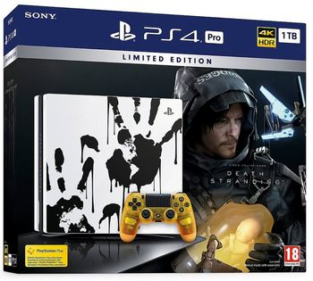 PlayStation 4 Pro 1 TB - Death Stranding Limited Edition Bundle