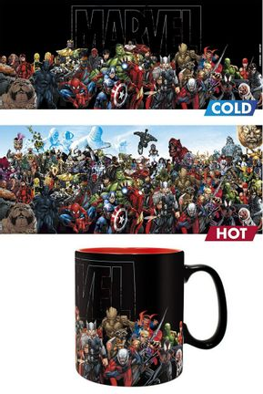 Marvel - Heroes Heat Change Mug, 460ml