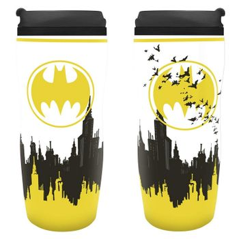 DC Comics - Batman Signal Plastic Travel Mug, 350ml