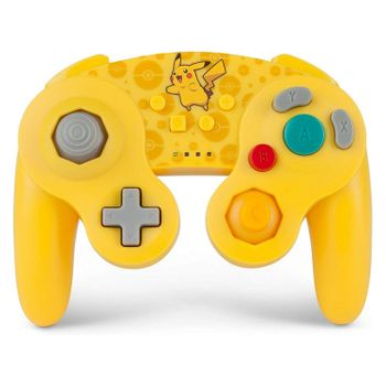 PowerA Wireless Controller GameCube Style - Pokemon Pikachu Edition (Switch)