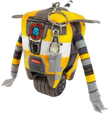 Borderlands 3 - Claptrap Plush Keyring