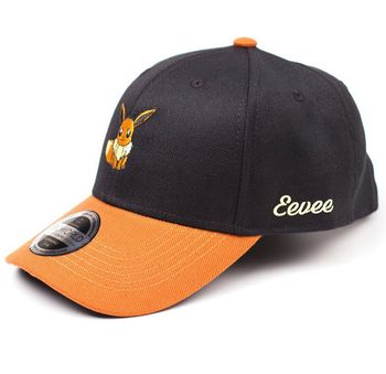Baseball Cap: Pokemon - Eevee, Black/Brown