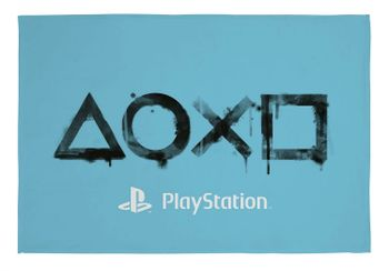 PlayStation - Symbols Fleece Blanket, 150x100cm (100% Polyester)