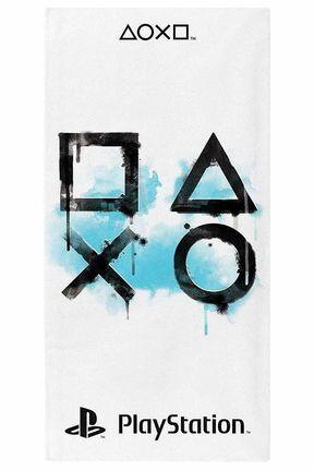 PlayStation - Symbols Towel, 70x140cm (100% Polyester)